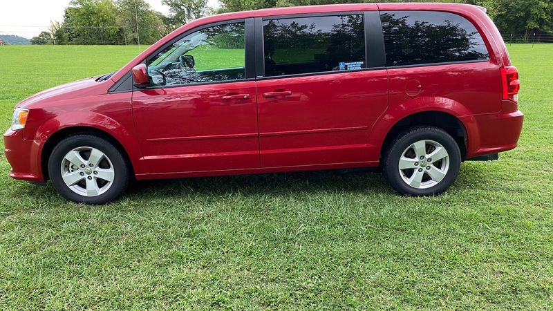 Used 2013 Dodge Grand Caravan.  Conversion