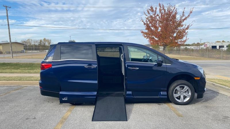 New 2020 Honda Odyssey.  Conversion