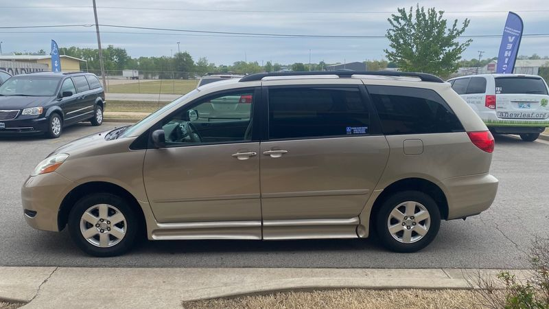 Used 2007 Toyota Sienna.  Conversion